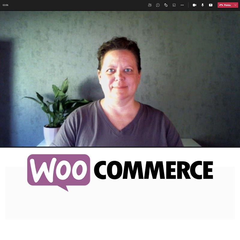 Tuotekuva henkilökohtainen opastus WooCommerce-verkkokaupan hallintaan