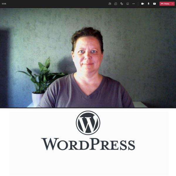 Tuotekuva henkilökohtainen opastus WordPress-sivuston hallintaan