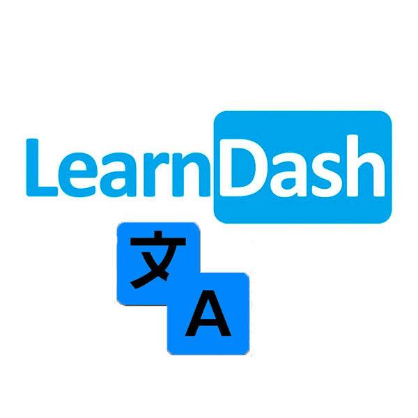 LearnDash käännöstiedosto tuotekuva