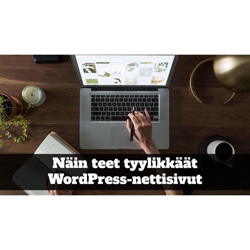 Tuotekuva WordPress-kurssi