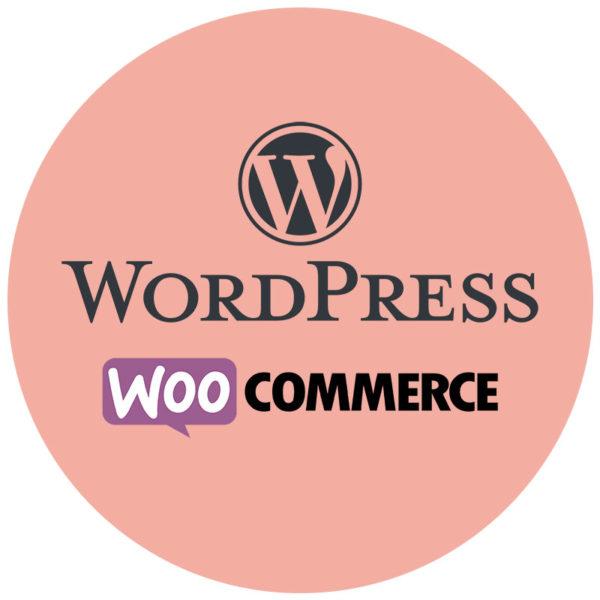 WordPress ja WooCommerce logot